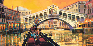 """Lights in the Venice Canal"" by Rodel Gonzalez"