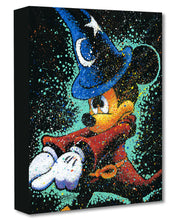 "Load image into Gallery viewer, ""Mickey Casts a Spell"" by Stephen Fishwick"