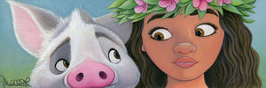 """Moana's Sidekick"" by Michelle St.Laurent"