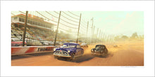 "Load image into Gallery viewer, ""Race at Thomasville Speedway"" by Garrett Taylor"