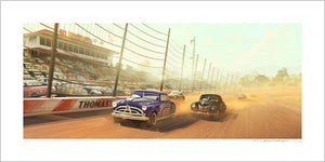 """Race at Thomasville Speedway"" by Garrett Taylor"