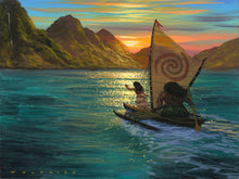 "Load image into Gallery viewer, ""Sailing Into the Sun"" by Walfrido Garcia"