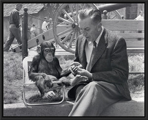 """Walt & Mr. Stubbs"" from Disney Photo Archives"