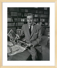 "Load image into Gallery viewer, ""Walt & Old Mill Art"" from Disney Photo Archives"