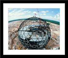 "Load image into Gallery viewer, ""EPCOT Construction"" from Disney Photo Archives"