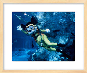 """Mickey Mouse and The Living Seas"" from Disney Photo Archives"