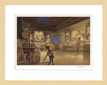 "Load image into Gallery viewer, ""Woody in Al's Display Room"" by Randy Berrett"