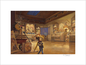 """Woody in Al's Display Room"" by Randy Berrett"