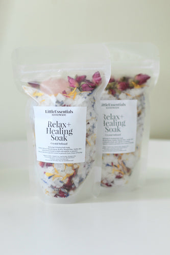 Relax and healing bath soak
