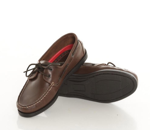 Burke Leather Deck Shoe