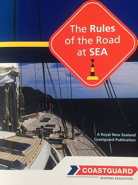 Rules of The Road At Sea is a New Zealand Coast Guard Federation publication that is now being used in most Coastal courses. 32 pages.