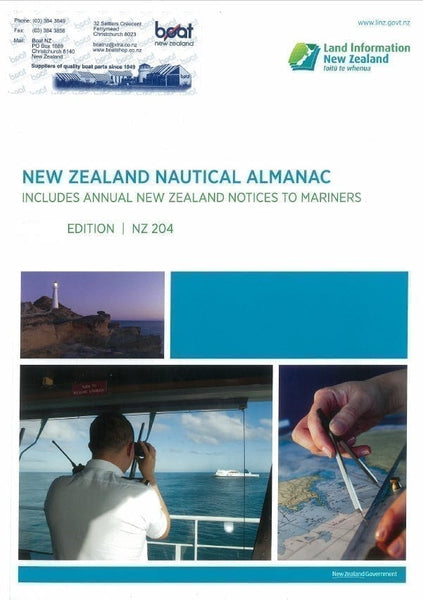 NZ Nautical Almanac 2019/2020