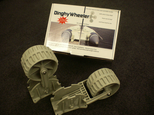 Dinghy Dolly Wheels- Grey