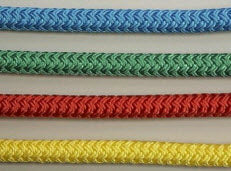 Polyester Cord 2mm, 3mm, 4mm, 5mm diameter Coloured (or white)