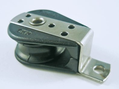 Cheek Pulley Block side mount 6mm