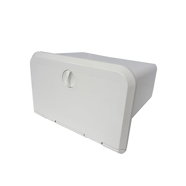 Storage Glove Box in White