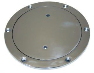 Inspection Port Deck Plate stainless steel #316 ( 3 sizes)