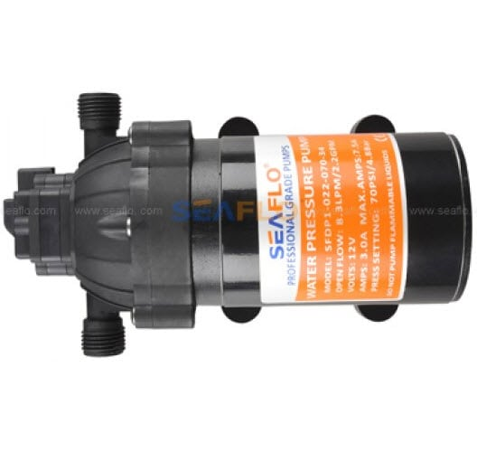 Washdown Pump Seaflo 2.2gpm 70psi