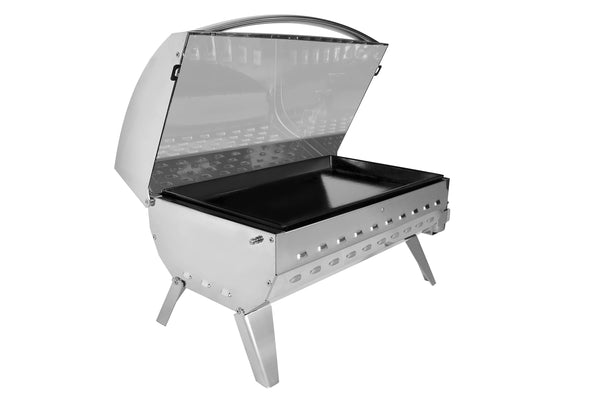 BBQ Eno Cook n Boat La Plancha Stainless Steel