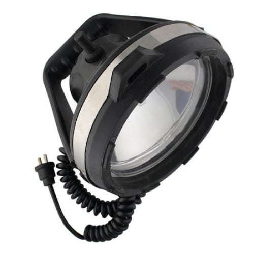 Rubber Cased Portable Search Light 100W