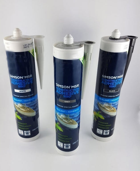 Adhesive Sealant available in 3 colours and works underwater