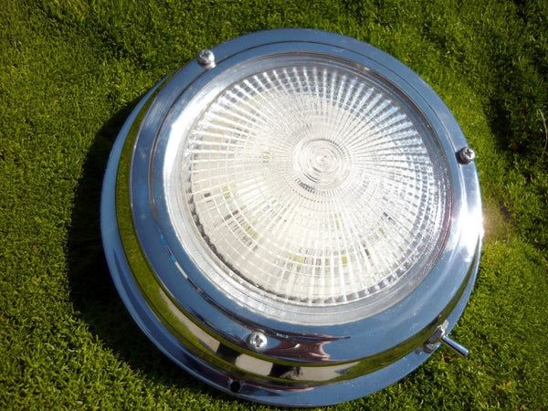 Stainless Steel Dome Lights LED (3 sizes)