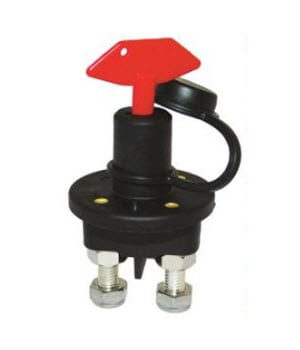 Battery Isolating Switch W/Cap