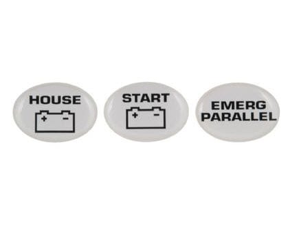 Battery Switch Labels