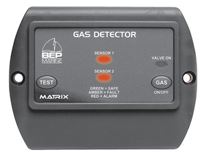 Dual LPG Detector with  Shut Off