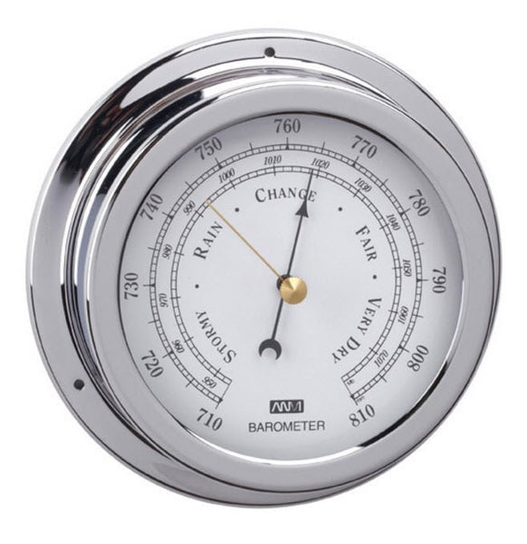 Chrome Barometer 120mm