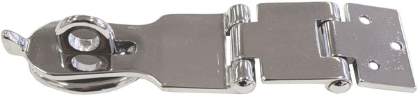 Hasp and Staple Double Hinged