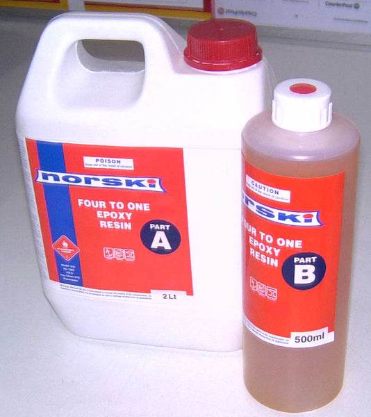 Epoxy Resin & Hardener Norski (NZ Made)