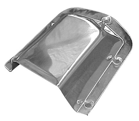 Clam Shell Vent Stainless Steel