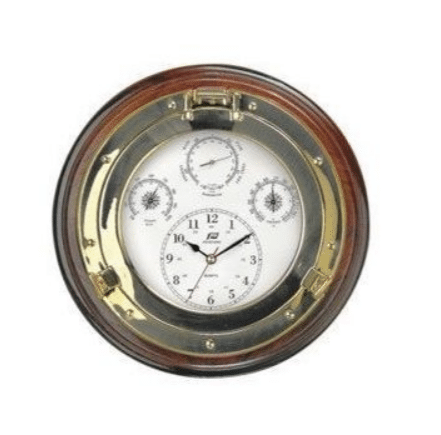 Plastimo Weatherman Clock, Barometer, Hygrometer and Thermometer