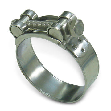 Heavy Duty Hose Clamps Stainless Steel - Full Size Range