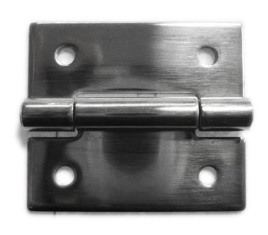 Stainless steel hinge 40mm 4 hole