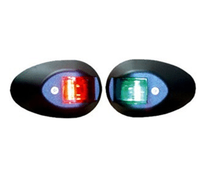 Navigation Lights Port and Starboard Set