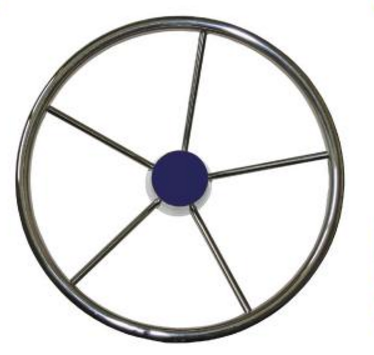 S/S Powerboat Steering Wheel