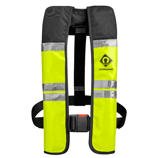 Inflatable Life Jacket Crew Saver 150N Wipe Clean Comercial