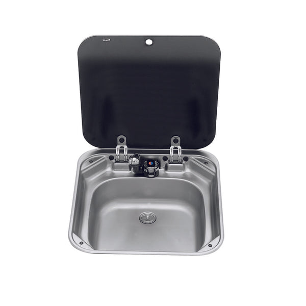 Square Sink With Lid