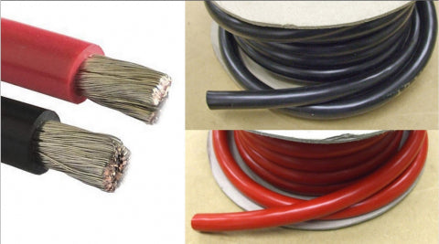single core tinned wire sold by metre 25 and 35mm²