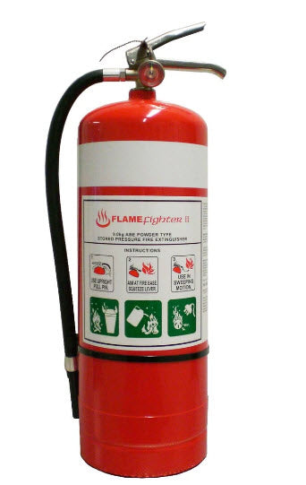 Fire Extinguisher - Flamefighter 9kg ABE Dry Powder