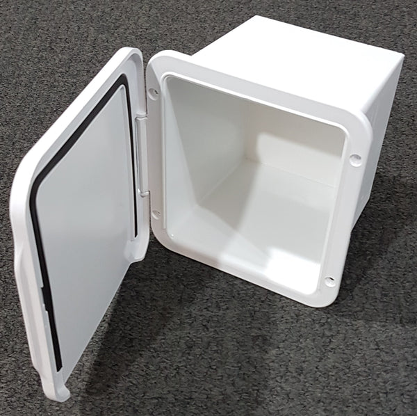 Recessed Storage Pocket - toilet roll cabinet