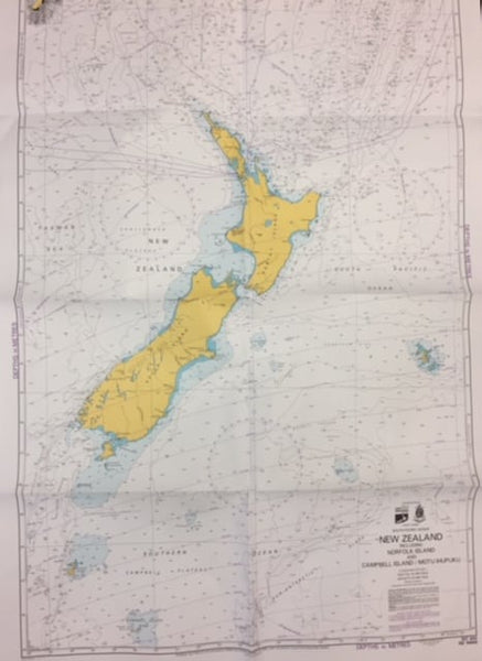 NZ14604 – Coral and Solomon Seas and adjacent seas
