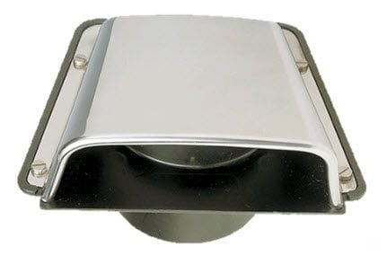 Shell Vent Stainless Steel with Throat