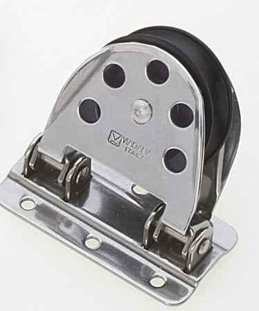 Pivoting Hinging Pulley Block 12mm