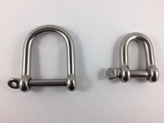 Wide Shackle Stainless Steel