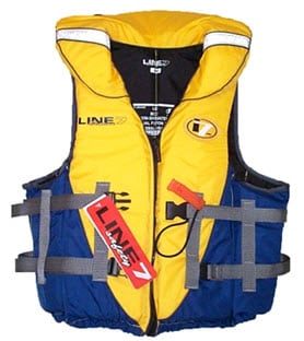 Line 7 Beacon Lifejacket Adult sizes