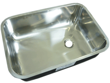 Sink Stainless Steel Rectangular