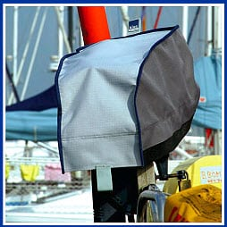 Outboard Motor Covers, Blue Performance